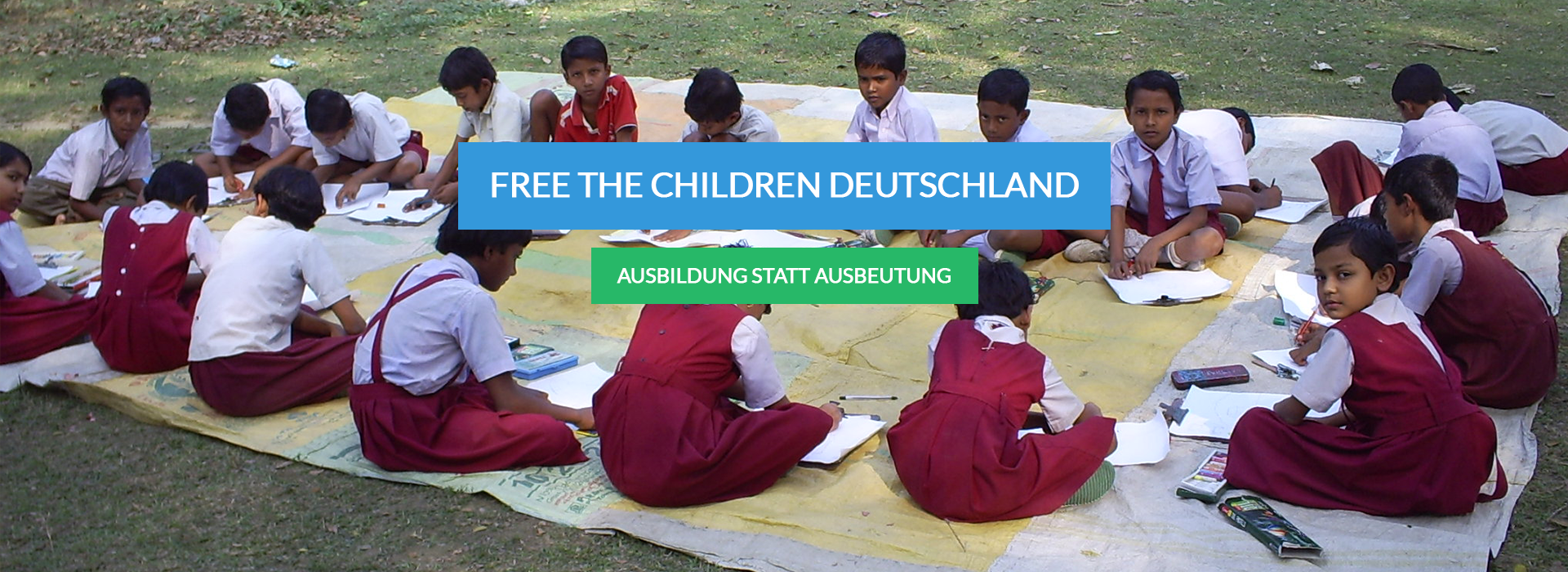 FreeTheChildren Slider Picture1